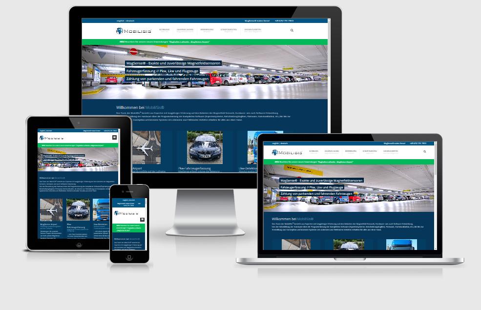 Webseite MobiliSis GmbH, Heppenheim
