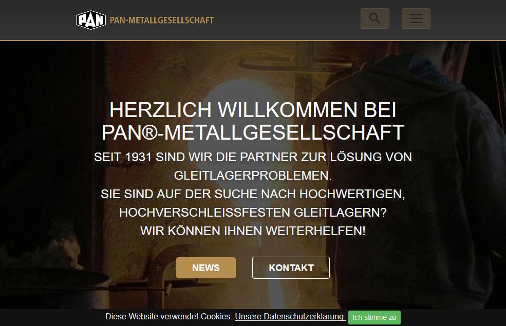 PAN-Metallgesellschaft Baumgärtner GmbH & Co. KG - Startseite